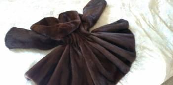 Вечернее платье в пол из шелка, аукционная норка Шуба Норковая полушубок, Любучаны, цена: 75 000р.