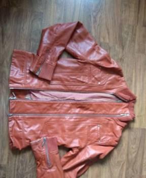 Кожаная куртка Mango размер M, фасоны платьев для осени и зимы, Лесколово, цена: 1 500р.