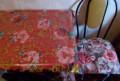 Подушки на кухню и клеенка с розами, Сараи