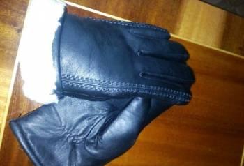 Кожаные мужские зимние перчатки, обувь под узкие джинсы мужские, Сурское, цена: 1 000р.