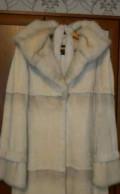 Платье на полных девушек из шифона, шуба из бобра, Курская