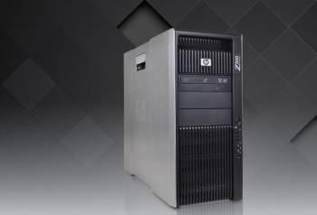 Мощный компьютер HP Z800 на базе Xeon
