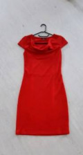 Платье бохо шифон, красное платье, Оренбург