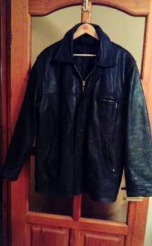 Интернет магазин унимал обувь, кожаная куртка тёплая 52-54, Вольск, цена: 1 000р.