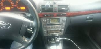 Toyota Avensis, 2006, опель вектра опс