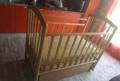 Детская кровать с маятником, ортопедический матра, Ртищево
