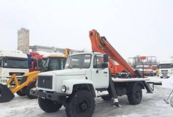 Автогидроподъемник вс-18T-01 газ-33088 (4х4), багажник на крышу ларгус фургон