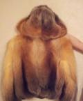 Платье с разрезом спереди до пупка, полушубок, куртка енот, Мензелинск