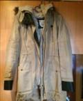 Деловая одежда из льна, парка зимняя / осенняя, Электросталь