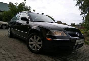 Volkswagen Passat, 2001, киа рио с пробегом 14 года, Должанская, цена: 200 000р.