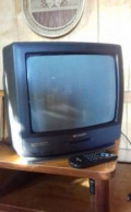 "Телевизор Sharp, 14"", (36см) +кронштейн, Москва"