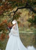 Эксклюзивная шубка из норки для невесты, платье с юбкой сеткой купить, Пенза