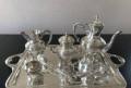 Кофейный/чайный сервиз серебрение 6 предметов, Хотьково