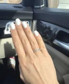 Золотое кольцо 18К, 1.01 карат, 16, 5 размер