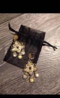 Эксклюзивные серьги сережки Zara новые, Клин