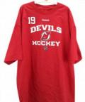 Рубашки джинсовые мужские, продам футболку New Jersey Devils Reebok NHL, Пречистое