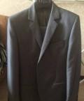 Пальто мужское richmond, мужской костюм. Одевался один раз, Молочное