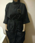 Продам черный новый плащ, одежда для похудения из неопрена, Томск