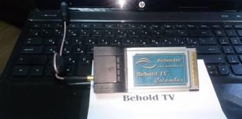 Тв тюнер для ноутбука Behold tv columbus pcmcia