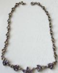 Винтажное серебряное ожерелье, 925 проба, США, Коммунарка