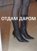 Сапоги деми кожаные, обувь native fitzsimmons, Кичменгский Городок
