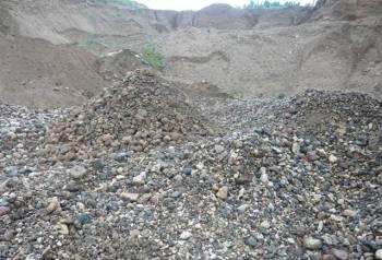 Гравийно-песковая обогащенная смесь. Газом, Камазом, Урень, цена: 590р.