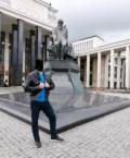 Кожаная куртка, мужские шорты и бермуды, Московский