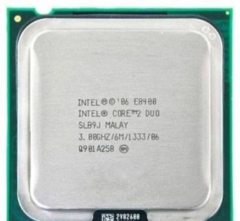 Процессор Intel Core 2 Duo E8400 (3. 0 Ghz) LGA775, Беломорск, цена: 999р.