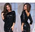 Платье с пайетками, модная женская одежда от balani, Боровский