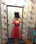 Платье Naf Naf, оригинал, брюки зауженные к низу женские для полных, Верхняя Салда