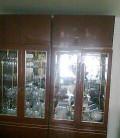 Шкаф для посуды, состояние отличное, глянец, р-р950*2, Белокуриха