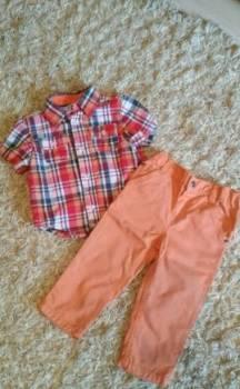 Рубашка и джинсы 86-92р, Кострома, цена: 400р.