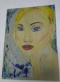 Картина написана пастелью и акриловыми красками, Йошкар-Ола