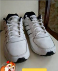 Кроссовки aowei, 46 размер, белого цвета, мужские туфли из натуральной кожи недорого, Шишкин Лес