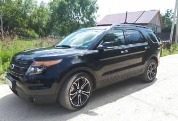 Ford Explorer, 2014, купить мерседес класса мл с пробегом, Благовещенск, цена: 1 890 000р.