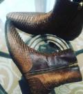 Мужская обувь фирмы марко, ботинки Zilli из питона оригинал 42, 5, Нижний Новгород