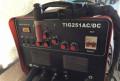 Аргонно-дуговой сварочный аппарат FoxWeld 250 acdc, Пенза