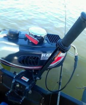 Мотор лодочный ханкай 3. 5 новый