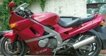 Спортивный мотоцикл кросс, kawasaki zzr 400