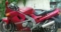 Спортивный мотоцикл кросс, kawasaki zzr 400, Судиславль
