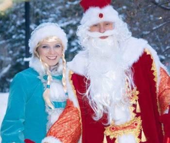 Дед Мороз и Снегурочка в Новосибирске на дом