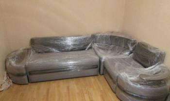 """Угловой диван """"Фараон"""" с баром и полукругом"""