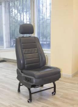 Админское кресло электро кожа