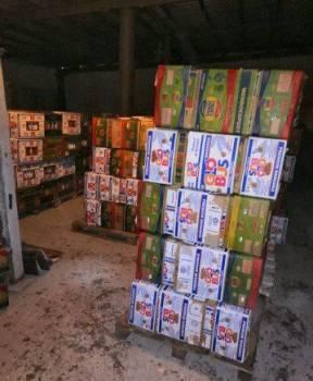Банановые коробки и ящики
