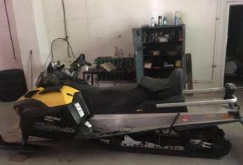 BRP Scandic 550 wt, сани волокуши для мотобуксировщика