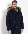 Зимняя куртка парка пуховик Gant, носки в банке купить дешево, Углич