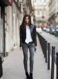 Xfp9695 брюки женские, джинсы mango, Сылва
