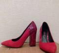 Обувь на каблуке для танцев, замшево-кожаные лодочки, Звенигово