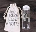 Бутылка My Bottle с мешочком белая, Стрехнино