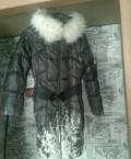 Пуховик, куртка женская удлиненная зима 08p058, Тула